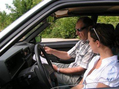 посоветуйте инструктора по вождению