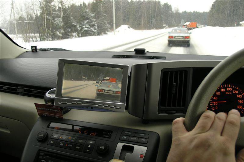 Камера обгона для праворульных машин своими руками 33